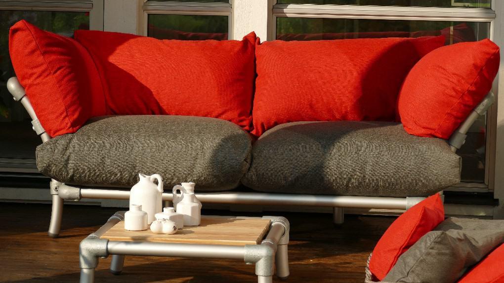 relax design loungebank voor buiten