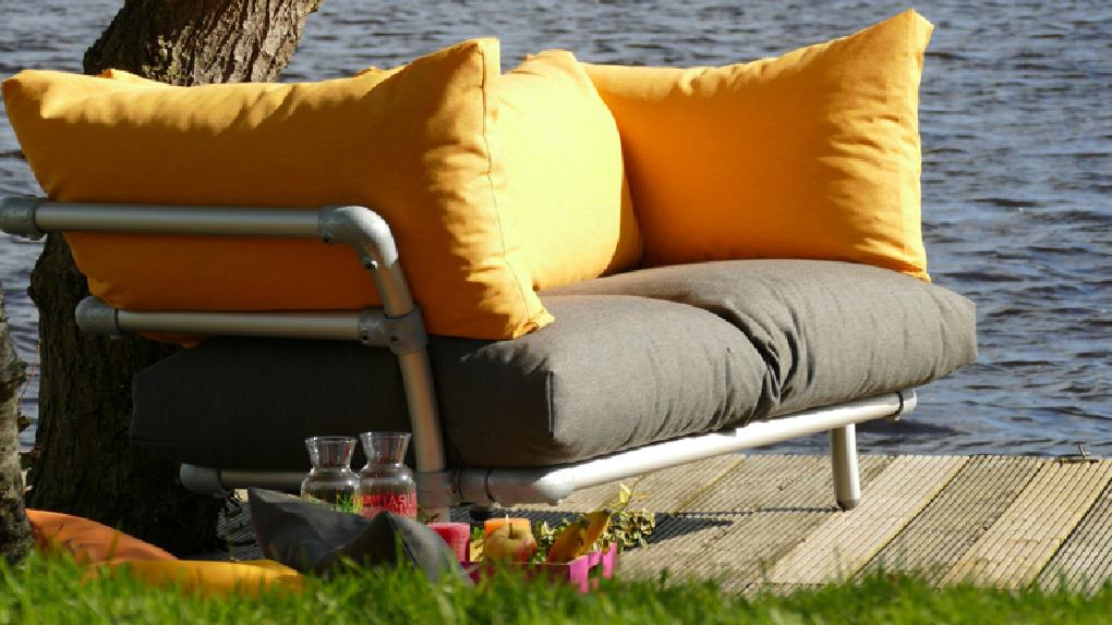 loungebank tuin 2019
