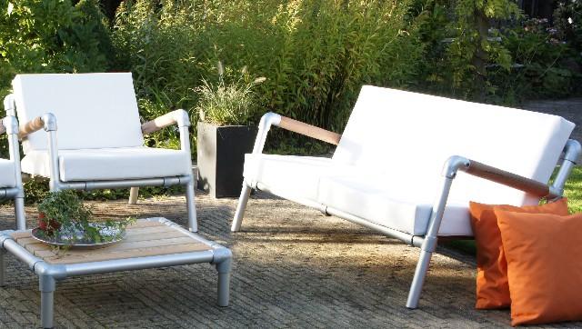 Lounge bank buiten en lounge stoel tuin luxe design for Lounge stoel buiten