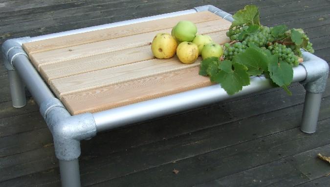 weerbestendig salon tafeltje voor in de tuin