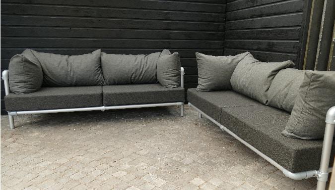 lounge hoekbank voor buiten
