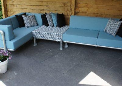 lounge hoekbank tuin