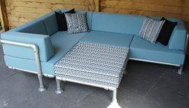 Lounge Hoekbank Buiten : Lounge hoekbank buiten trendy seasons outdoor cosmo loungeset all