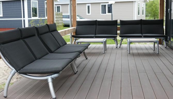 design loungeset op het terras