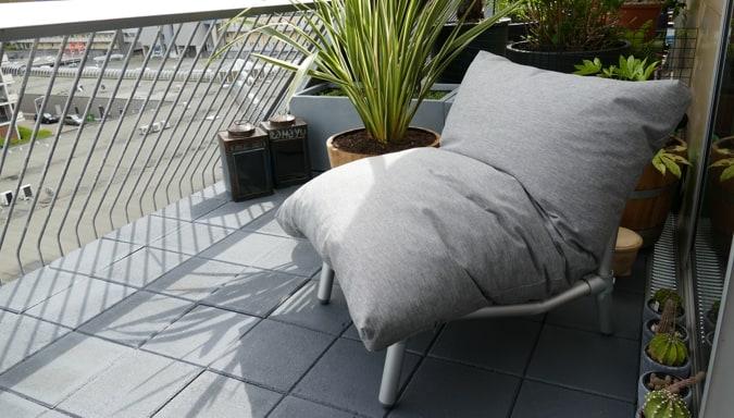 loungestoel balcon