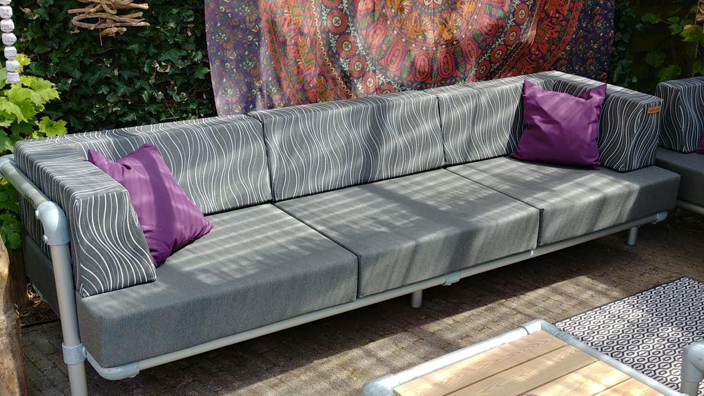 design loungebank voor in de tuin