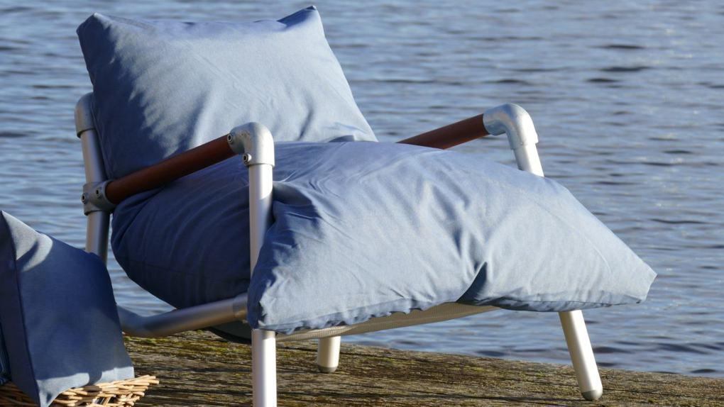 loungestoel voor buiten met uniek comfort