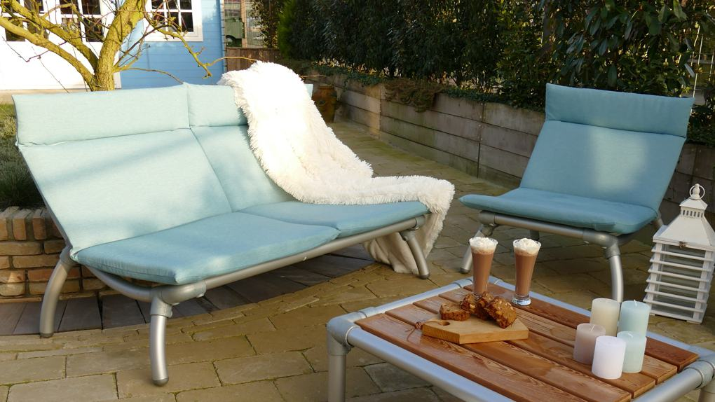 all weather lounge set tuin