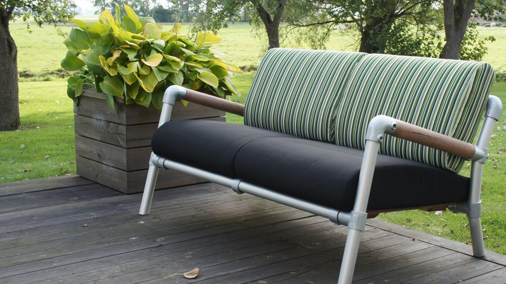 lounge tuinbank aluminium