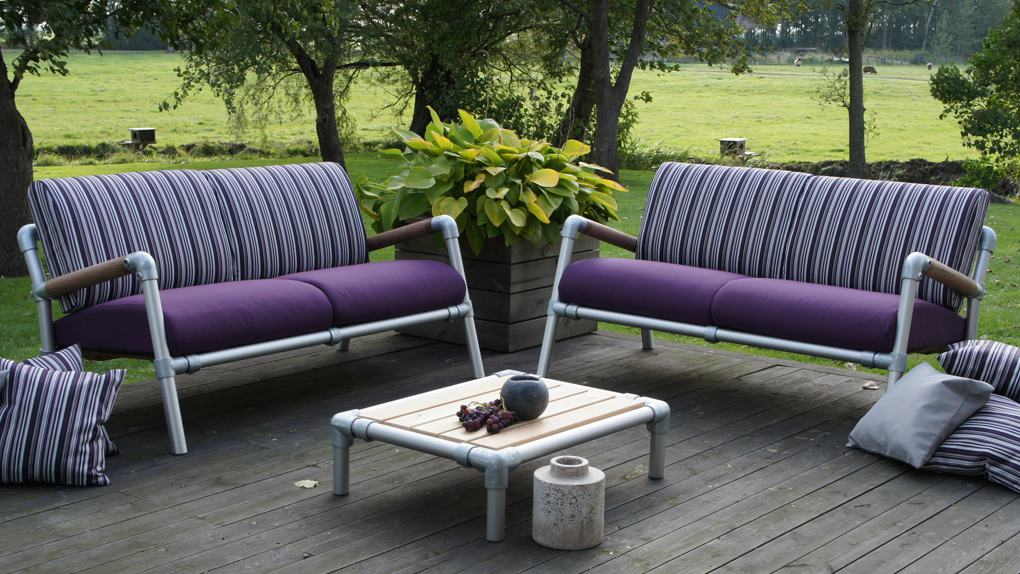 design loungebanken tuin