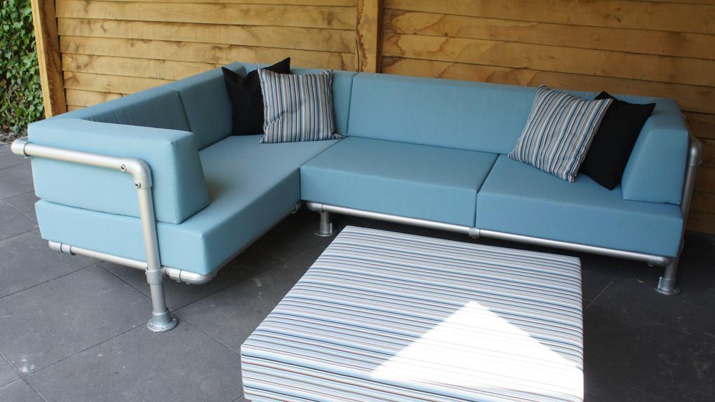 op maat loungebank voor buiten kopen? zeer stevig loungeset in de tuin