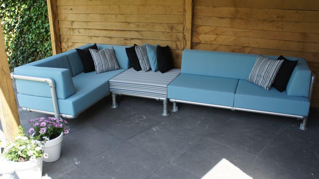 hoekbank lounge tuin