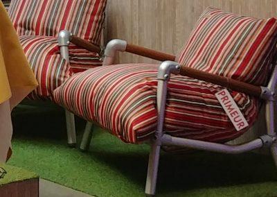 loungestoel buiten