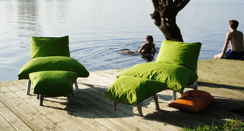 tuin zitzak stoelen