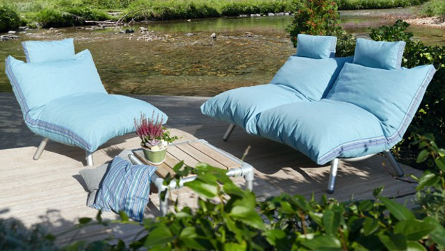 zitzak lounge set tuin