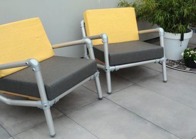lounge stoelen voor in de tuin