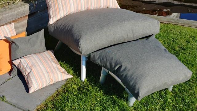 lounge stoel antraciet voor buiten