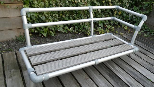 weer bestendig chaise longue voor in de tuin