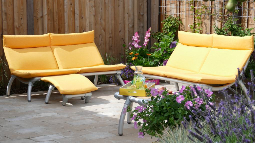 all weather loungebank tuin