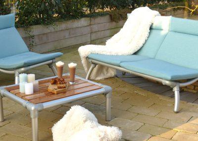 loungeset voor buiten op terras