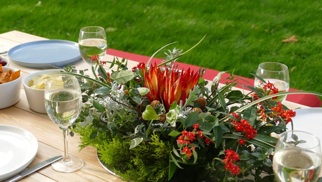 tuin tafel buiten