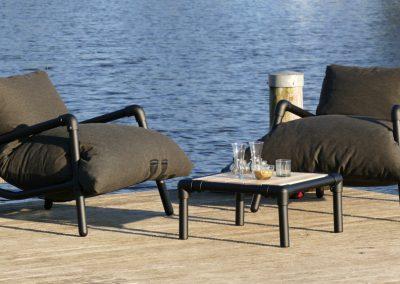lounge stoelen terras