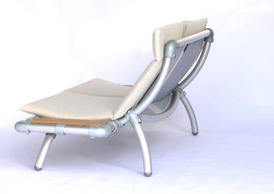 loungebank voor buiten ecru kleur