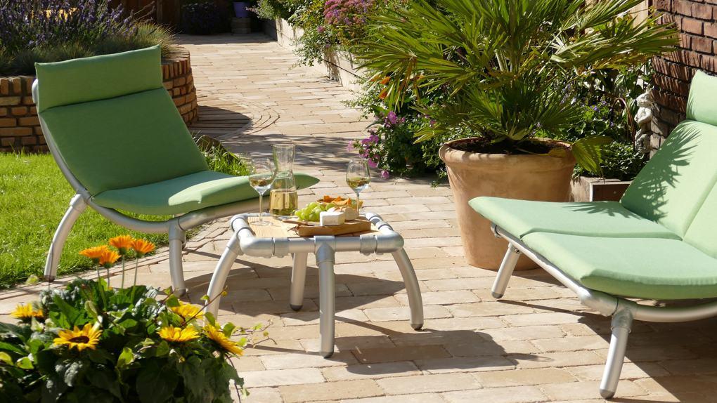 design loungestoel voor buiten