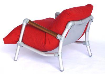 loungestoel voor balkon
