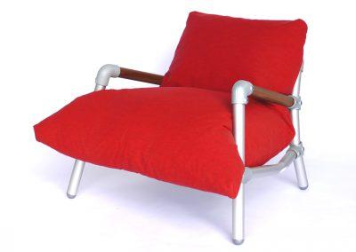 loungestoel voor terras