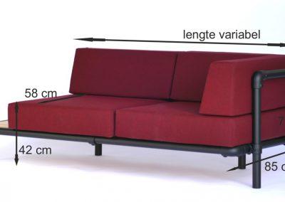 maten lounge bank