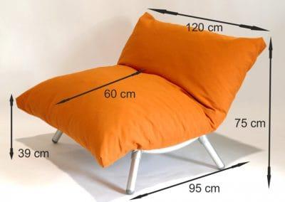 maten loungestoel voor buiten