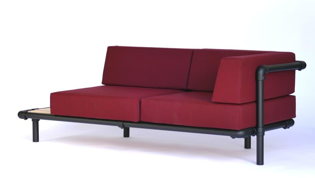 lounge bank buiten
