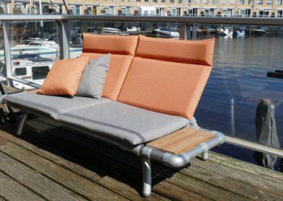 all weather loungestoel voor in de tuin