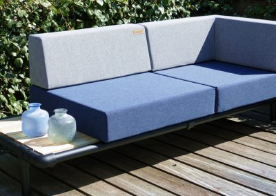 lounge bank tuin