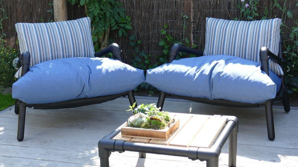 loungestoel tuin