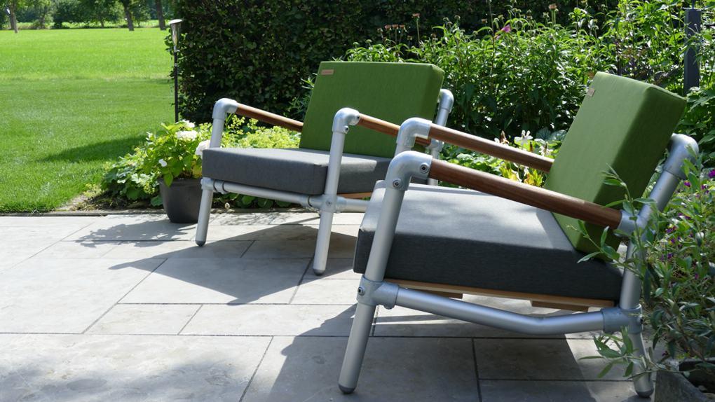 lounge stoel buiten